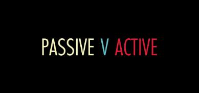 Passive trading strategies